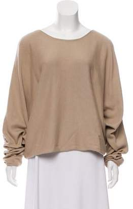 The Row Dolman Sleeve Knit Sweater