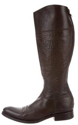 Alberto Fasciani Leather Knee-High Boots Leather Knee-High Boots