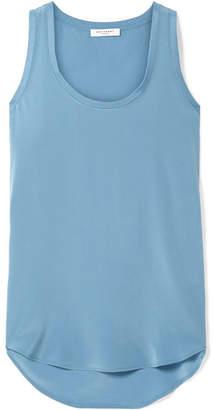 Equipment Mel Washed-silk Tank - Light blue