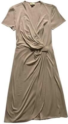 Issa Beige Silk Dress for Women
