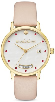 kate spade new york Resolutions Metro Watch, 34mm $195 thestylecure.com
