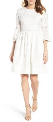 Women's Eliza J Fit & Flare Dress $168 thestylecure.com