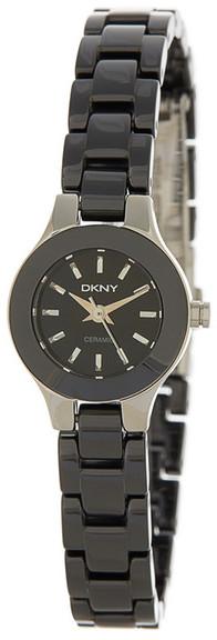 DKNYDKNY Women&s Black Dial Ceramic Watch