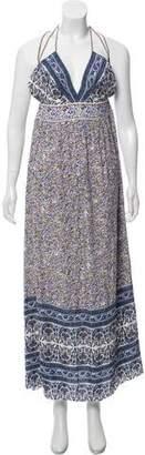 Rebecca Taylor Floral Print Maxi Dress