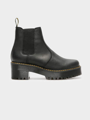 Dr. Martens Womens Heeled Chelsea Boot in Black