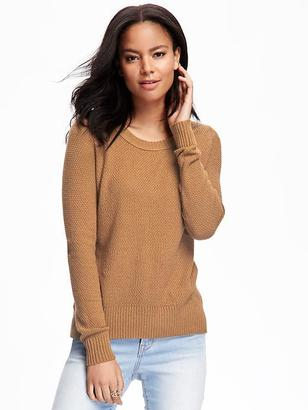 Hi-Lo Textured Sweater for Women $29.94 thestylecure.com