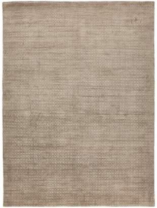 "ABC Home Contemporary Silk & Wool Rug - 9'x12'1"""