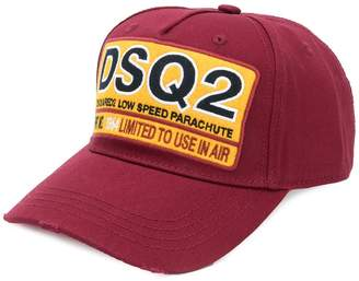 DSQUARED2 DSQ2 patch baseball cap
