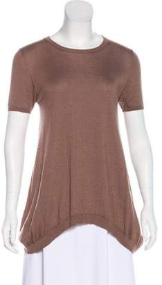 Brunello Cucinelli Cashmere & Silk-Blend Top