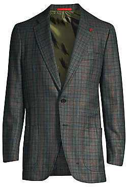 Isaia Men's Classic Fit Wool& Cashmere Jacket