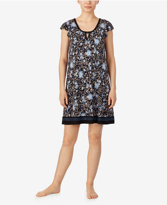 Ellen Tracy Women Boho Floral Chemise Nightgown, Online Only