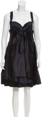 Prada Pleated Silk Dress w/ Tags