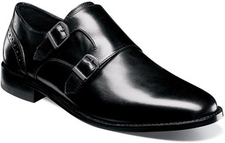 Nunn Bush Norway Men's Monk Strap Dress Shoes