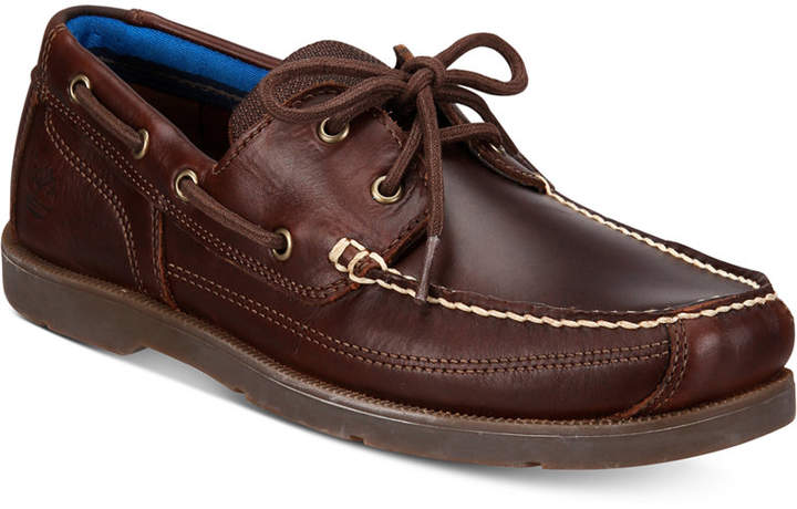 TimberlandTimberland Men's Piper Cove Leather Boat Shoes
