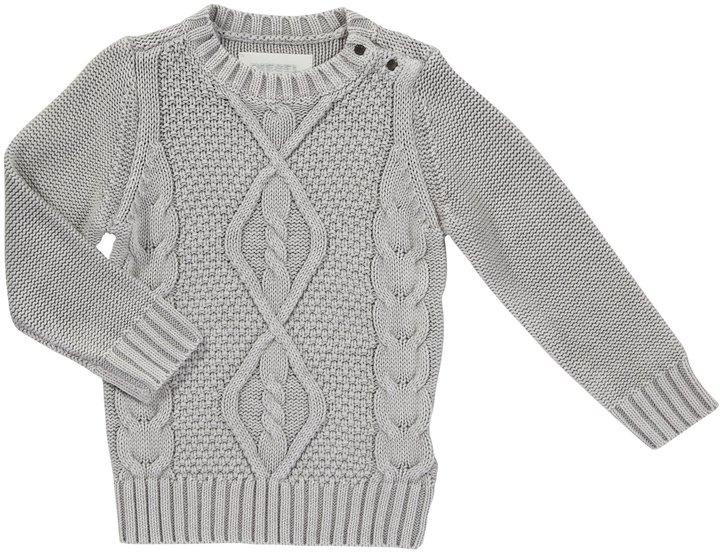 Diesel Krobib Knit Crew Sweater - Chalk Pink-12 Months