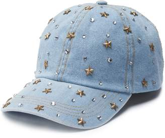 Mudd Women's Stones & Stars Baseball Cap