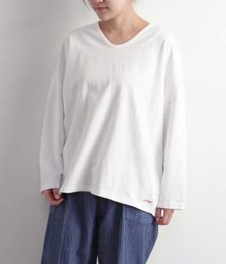 スーピマ裏毛 ワイドTシャツ(E・ホワイト)