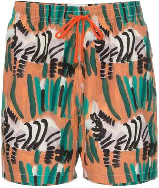 Trunks Timo zebra print drawstring swim shorts
