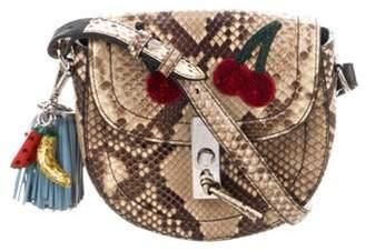 Altuzarra Python Embellished Bag Tan Python Embellished Bag