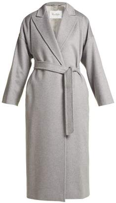 Max Mara Teti Coat - Womens - Light Grey