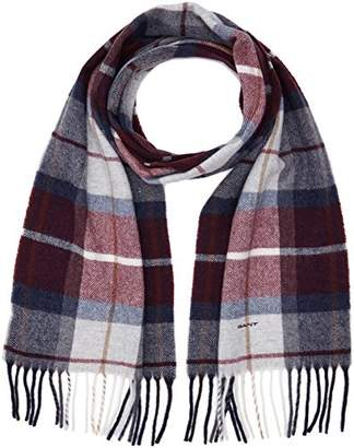 Gant Men's Check Lambswool Scarf