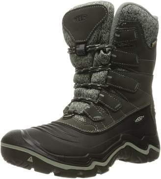 Keen Women's Durand Polar Shell WP Mid Calf Boots, Beluga/Desert Sage