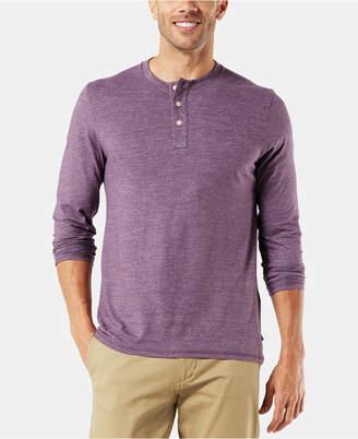 Dockers Men Alpha Henley Shirt