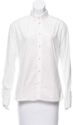 Tomas Maier Poplin Button-Up Top w/ Tags