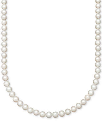 """Belle de Mer AA 18"""" Cultured Freshwater Pearl Strand Necklace (7-1/2-8-1/2mm)"""