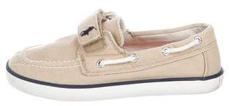 Polo Ralph Lauren Boys' Canvas Slip-On Sneakers
