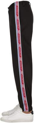 Givenchy Jersey Track Pants W/ Logo Side Bands