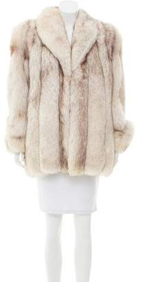 Arctic Snow Fox Coat