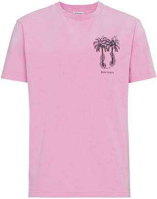 Palm Angels Capture palm tree print t-shirt