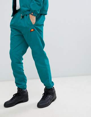 Ellesse Mellas track joggers in green
