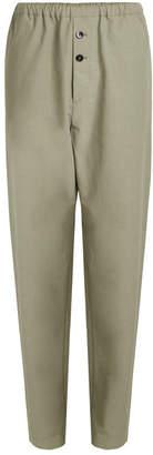 Jil Sander Ross Pants with Cotton