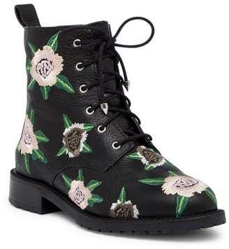 Rebecca Minkoff Gerry Embroidered Lace-Up Boot