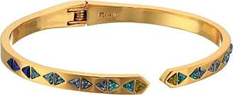 Rebecca Minkoff Women's Stacked Triangles Cuff Bracelet
