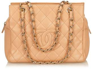 Chanel Vintage Caviar Petite Timeless Tote