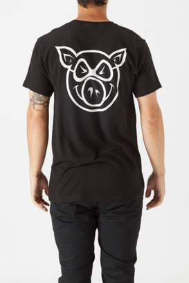 Pig Wheels Pig Head T-Shirt