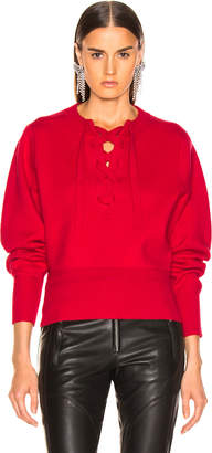 Etoile Isabel Marant Kaylyn Sweater in Red | FWRD