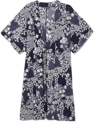 Vince Camuto Print Kimono Cover-up