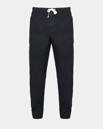 Theory Garment-Washed Drawstring Pant