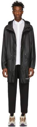 Stutterheim Black Ekeby Lightweight Raincoat