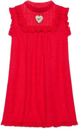Children's embroidered linen dress $435 thestylecure.com