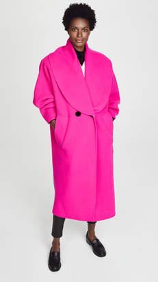 Marc Jacobs Shawl Collar Wool Coat