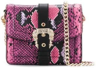 Versace snakeskin print mini bag