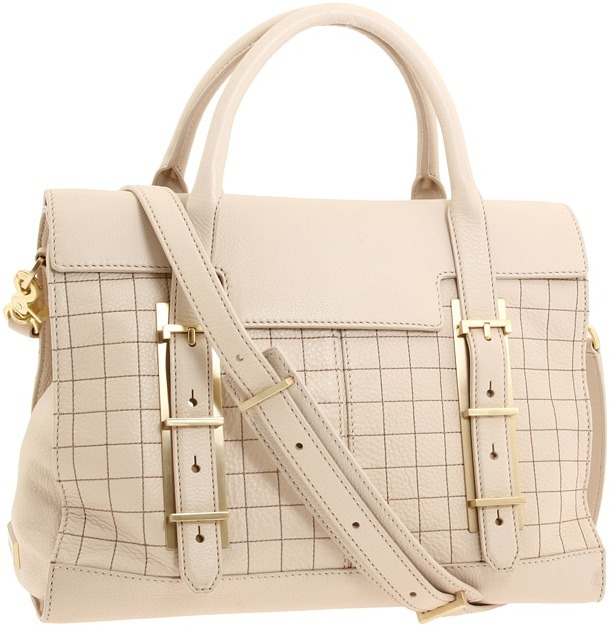 Botkier Eden Satchel (Stone Cowhide) - Bags and Luggage
