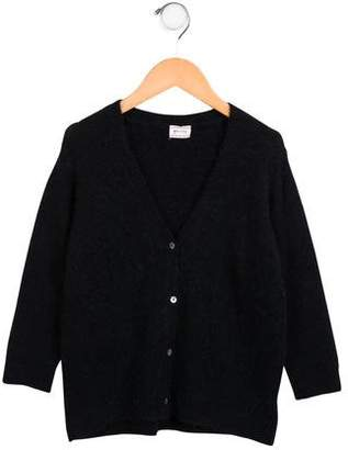 Morley Girls' Knit Button-Up Cardigan