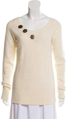 Christian Dior Metal-Accented Sweater