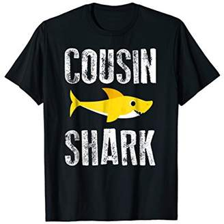 Cousin Shark Future Relative Funny Family Related Gift Tee